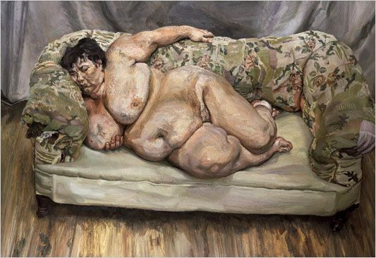 by Lucien Freud