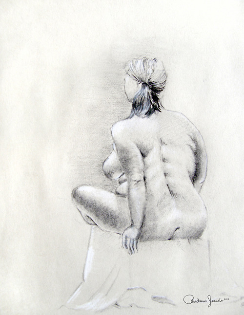 Charcoal Drawing | 9x 12in | 2012
