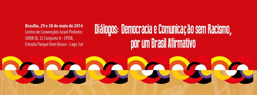 Gorda&Sapatão no seminário:  'Diálogos: Democracia e comunicação sem racismo, por um Brasil afirmativo'.