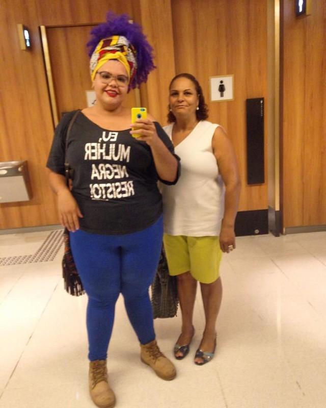 2016, dona Sônia e eu <3