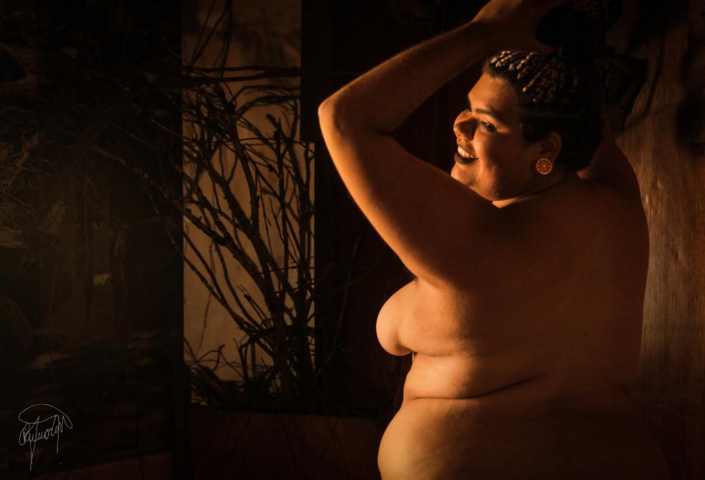 Um corpo negro, feminino e gordo no mundo