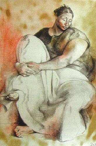 by Francisco Zuniga  'Caserio norteño'