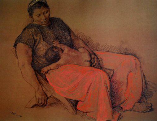 by Francisco Zuniga 'Madre Juchiteca'