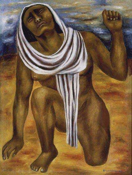 La tierra (1945) - por María Izquierdo